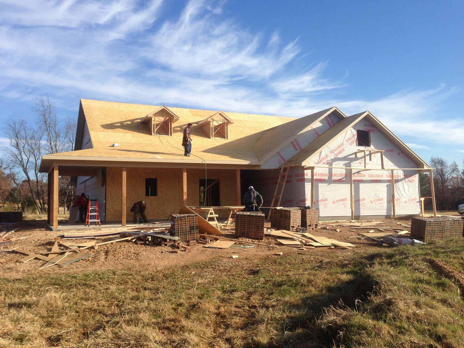 Home builder custom home in Tahlequah, OK